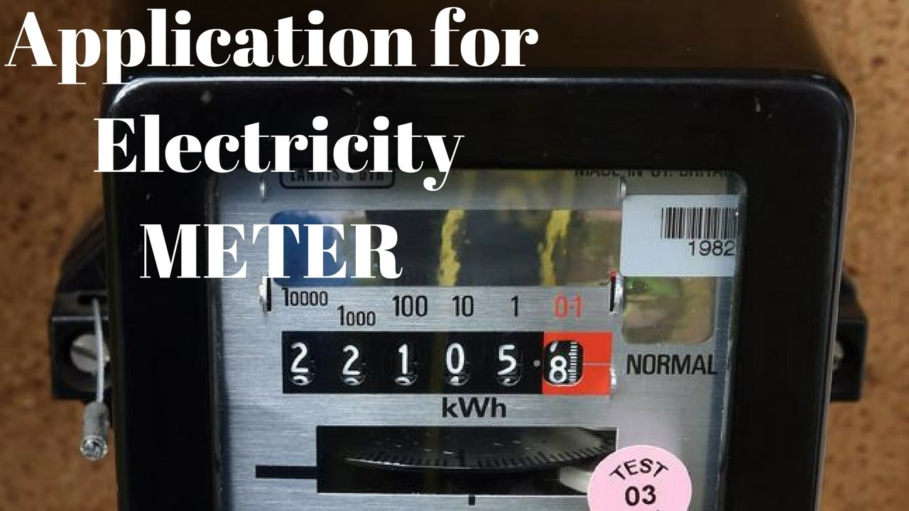 Increasing Electricity Meter : How to write application for changing an electricity meter youtube