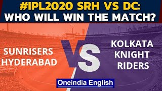 IPL 2020: SRH vs KKR: Eoin Morgan aims to bring Knight Riders on winning track | Oneindia News