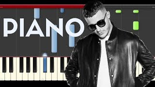Dj Snake Middle Piano Tutorial Midi