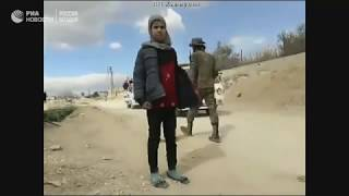 Минобороны из пункта пропуска «Хаммурия» в Восточной Гуте.
