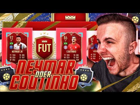 FIFA 20: OMG! NEYMAR oder COUTINHO im Pack 😱🔥 Fut Champions Rewards 🔥