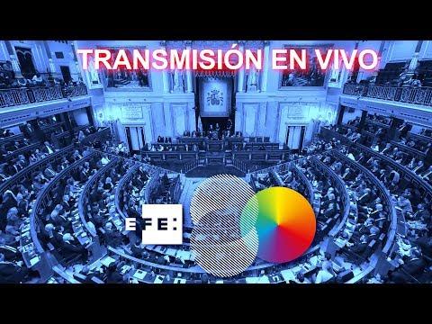 En directo | Debate para la investidura de Pedro Sánchez