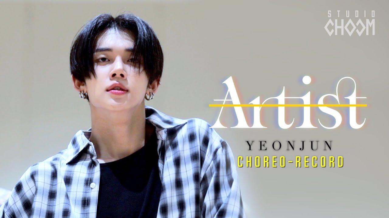 [Artist Of The Month] Choreo-Record with TXT YEONJUN(연준) | July 2021 (ENG/JPN SUB)