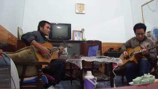 Mái trường mến yêu guitar cover - Thuykai Hùng râu