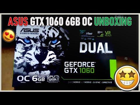 ASUS GeForce GTX 1060 6GB DUAL OC Unboxing | New GPU Is HERE!