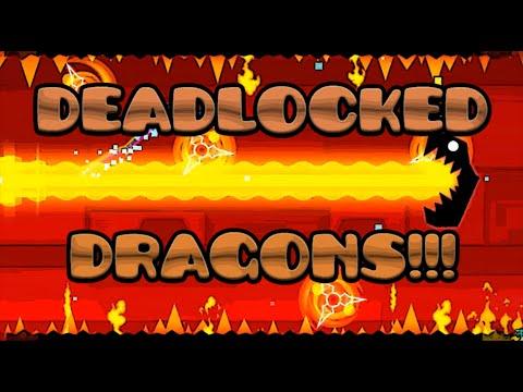 Como Hacer Los Dragones De DeadLocked En Geometry Dash[2.0]