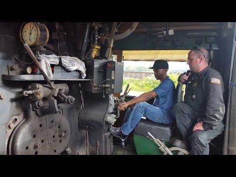 NKP 765 throttle time (Inside view)