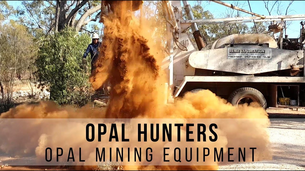Outback Opal Hunters TV Series | Opal Mining Equipment