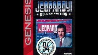 Jeopardy Deluxe Edition Sega Genesis Game 1
