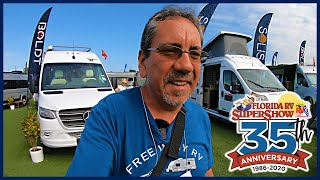 Florida RV SuperShow 2020 - Winnebago Boldt