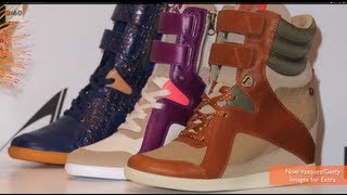 Wedge Sneaker Trend Hot With Celebs