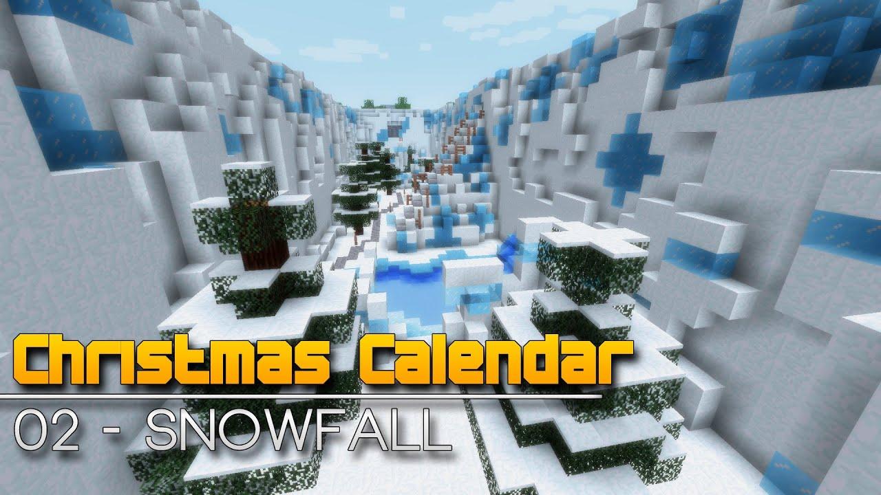 Christmas Calendar Minecraft Download : Christmas calendar snowfall minecraft parkour map