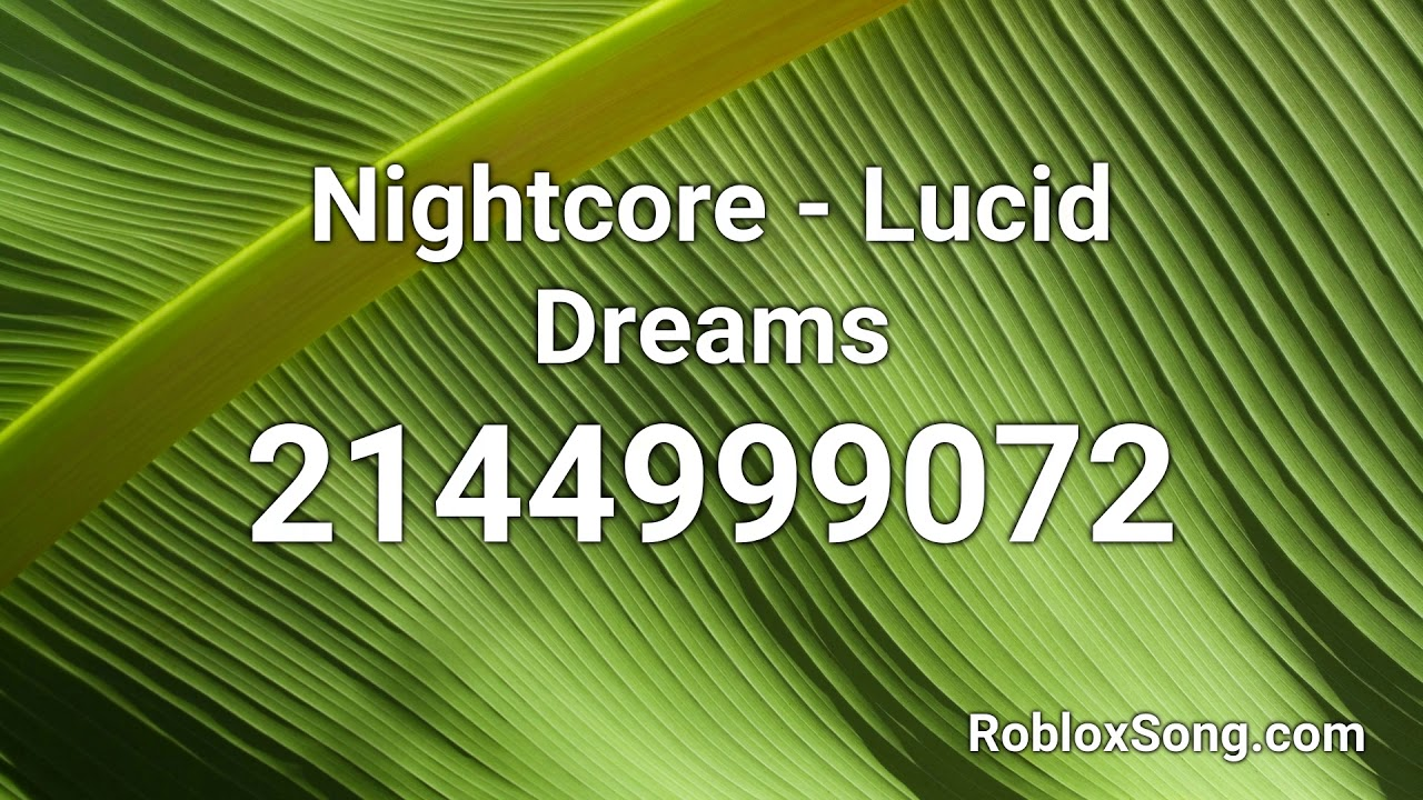 lucid dreams code for roblox