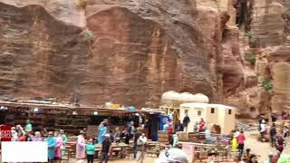 Escape from Perta. Flood in Petra.