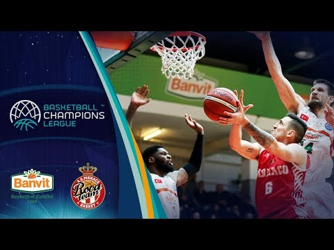 Banvit v as monaco - full game - quarter-final - basketball champions league 2017-18