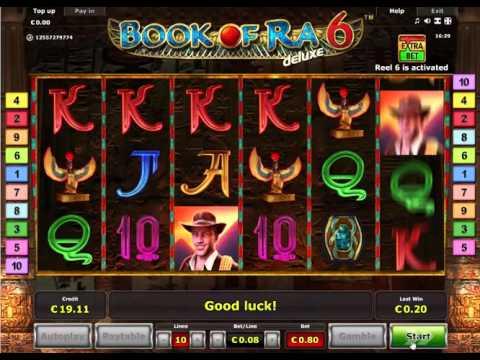 Book of ra free casino games