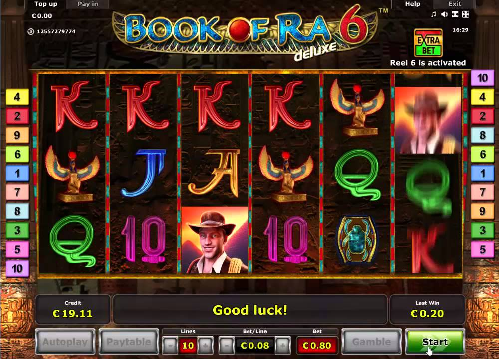 Book Of Ra Games