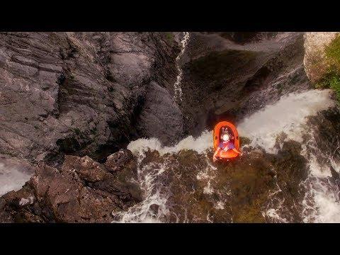 Riding A Walmart Raft Off A 1000 Ft. Waterfall