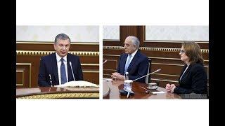 Президент Республики Узбекистан принял делегацию США
