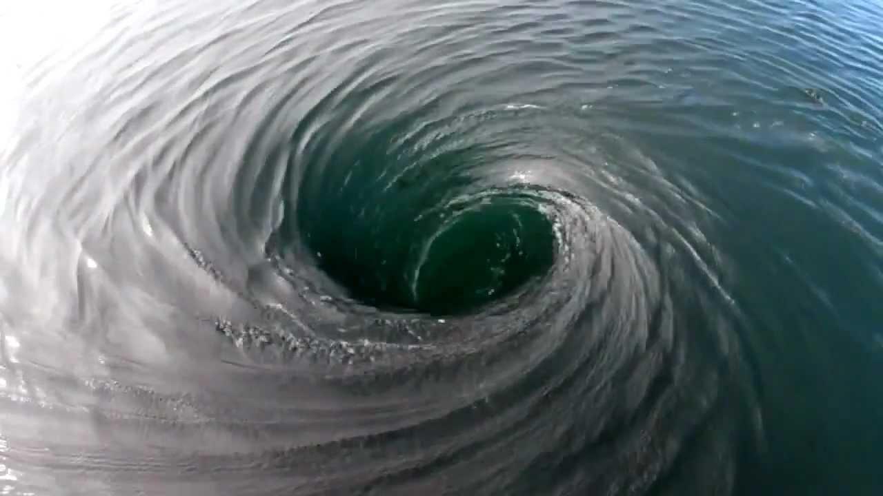 Giant Whirlpool! - YouTube