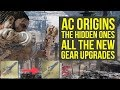 Assassin's Creed Origins DLC All New Gear Upgrades (AC Origins The Hidden Ones)