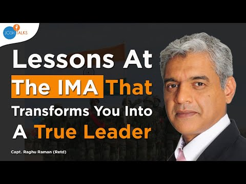 Capt. Raghu Raman |  🇮🇳 5 Life Lessons from the Indian Army Life 🇮🇳 | Army Motivation: ► SUBSCRIBE to the Most Incredible Stories Of India: http://bit.ly/SusbcribeToJosh  Raghu Raman has possibly one of the most unique career profiles spanning over 25 years. He spent eleven years as an officer in the Indian Armed Forces , followed by another eleven years in the corporate sector before joining the Government as CEO of the National Intelligence Grid.   In this talk, Captain Raghu speaks about the lessons he learnt from his time in the army and how they have helped him at every step in his careers and any problem he has faced in his life. From leading troops at the famed Siachen Glacier to leading a tech start-up and other big corporates like Reliance, Mahindra, NATGRID amongst others - the army played a very influential role in shaping Captain Raman to become the man he is today.  This talk was recorded at Josh Talks Lucknow on the 8th July, 2017 at the CMS Auditorium.  Josh Talks collects and curates the most inspiring stories of India and provides a platform to showcase them. Speakers from diverse backgrounds are invited to share their stories, highlighting the challenges they overcame, on their journey to success and realizing their true calling.   ► SUBSCRIBE to our Incredible Stories, press the red button ⬆️  ► Say hello on FB: https://www.facebook.com/JoshTalksLive ► Tweet with us: https://www.twitter.com/JoshTalksLive ► Instagrammers: https://www.instagram.com/JoshTalksLive  ► Josh Talks is in your city soon: https://events.joshtalks.com