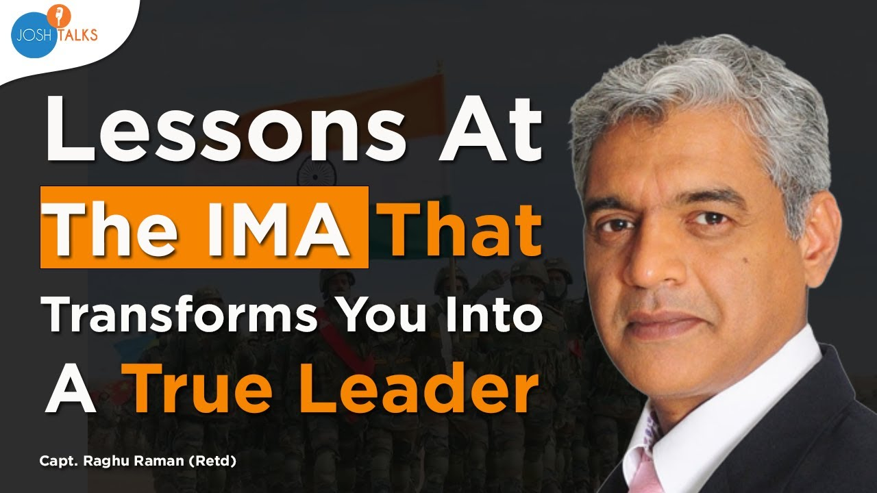 Capt. Raghu Raman | 5 Life Lessons from the Indian Army Life | Motivational video