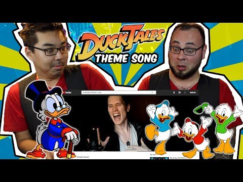 Top 9 DuckTales Theme Song Covers (Reaction) | Band vs Internet | RKVC