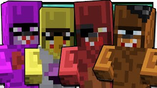 Minecraft | FIVE NIGHTS AT TRAYAURUS' | Custom Mod Adventure