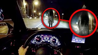 10 SCARY Ghost Sightings Caught on Dashcam