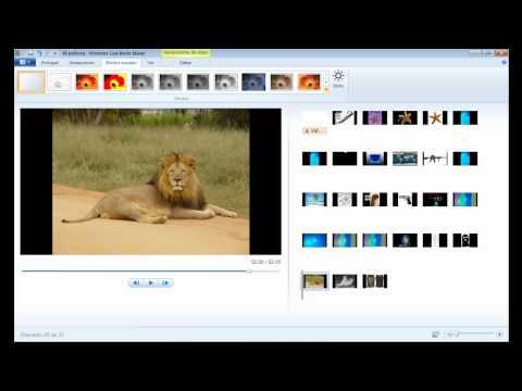 Movie Maker Windows 7 / Tutorial en Español / Creando Album HD