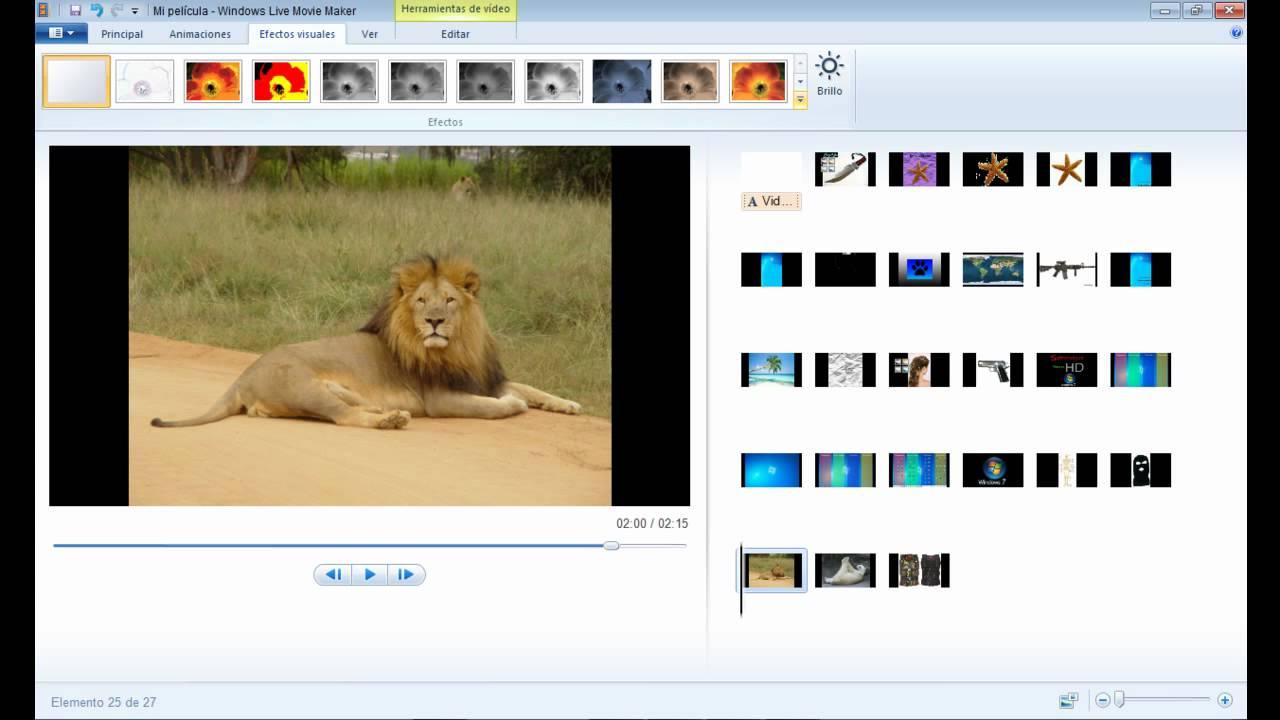 Windows 7 Movie Maker