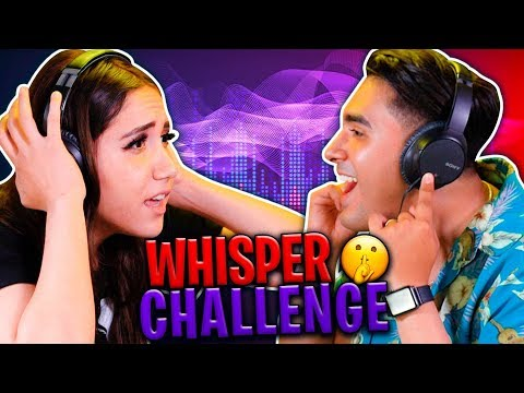 WHISPER CHALLENGE | Rizo Vs Carito BB