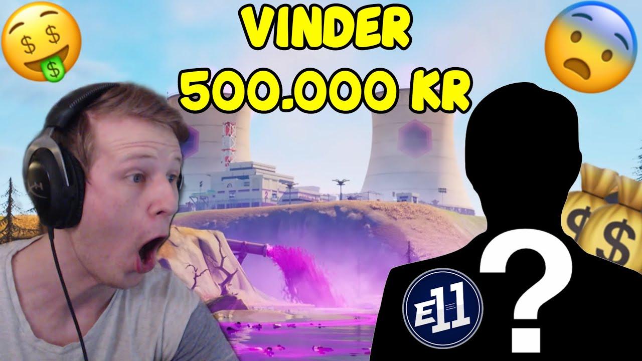 MIN TEAMMATE VINDER 500.000 KRONER I SOLO FNCS (Dansk Fortnite VOD Review) | E11 Zrool