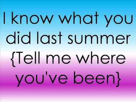Shawn Mendes ft  Camila Cabello - I Know What You Did Last Summer Lyrics