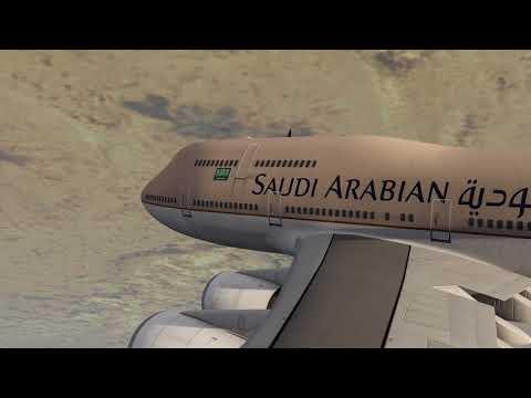 Boeing 747-400 Saudi Arabian Airlines Crash near Riyadh