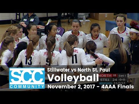 Volleyball - 4AAA Finals - Stillwater vs North - 11/2/17
