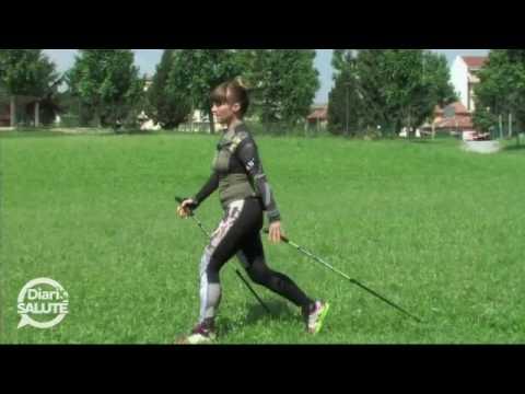 Prima lezione di Nordic Walking in Valbelluna