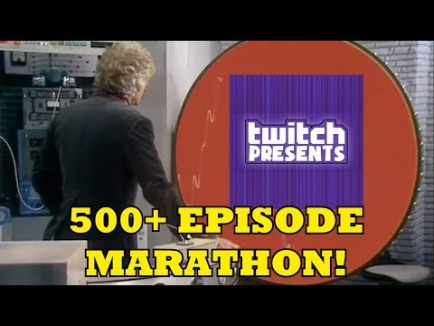 Twitch Broadcasting a 300+ Hour Classic Who Marathon - DOCTOR WHO NEWS