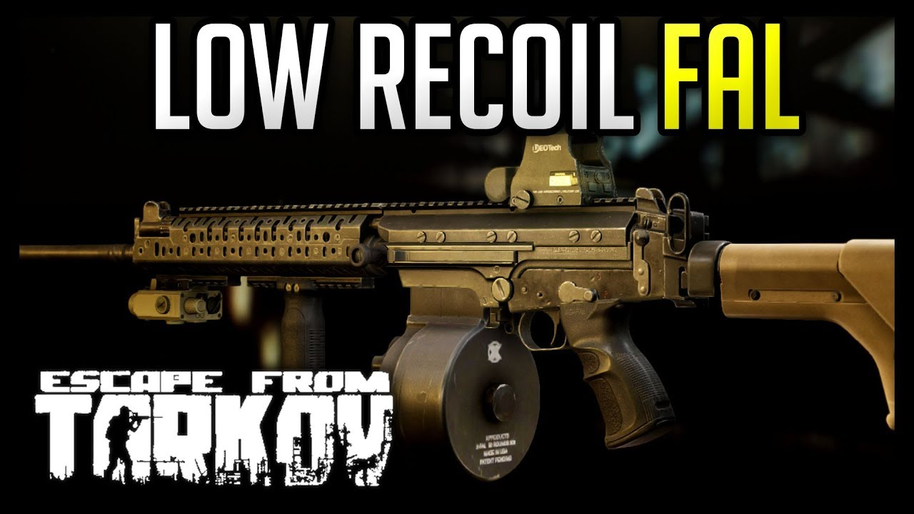 Low Recoil SA-58 (FAL) - Escape from Tarkov 0 10