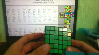 How to scramble 6x6/ Как скрамблить(запутывать) 6х6