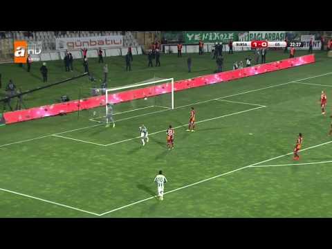 Bursaspor 2-5 Galatasaray FULL MAÇ Tek Parça ATV HD Ziraat Turkiye Kupasi Yari Final 16 04 2014 720p