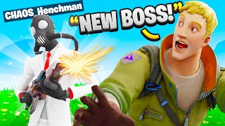 I Pretended To Be NEW Henchmen In Fortnite