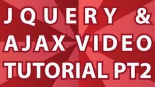 JQuery Video Tutorial Pt 2