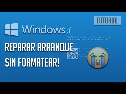 7 Opciones Para Reparar Windows 10 Sin Formatear   Daños Sistema o Virus [2019]