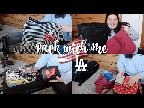 Pack with me: One Week in LA | Tea Time With Ciara