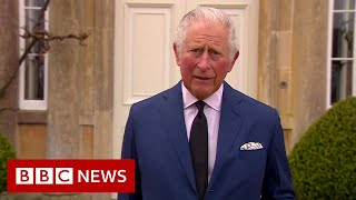 The Prince of Wales pays tribute to his