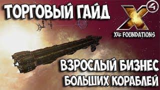 X4: Foundations - ГАЙД ПО ТОРГОВЛЕ + МОДИФИКАЦИЯ КОРАБЛЕЙ (обзор и гемплей) gameplay ships
