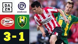 Eindhoven wendet Fehlstart ab: PSV - Den Haag 3:1 | Eredivisie | DAZN Highlights