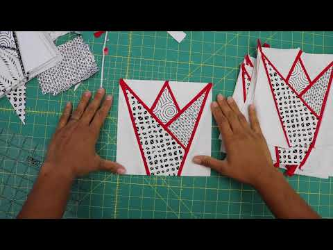 tulipán-video-quilt-along--video-#5:-making-red-blocks-and-trimming